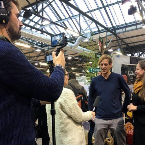 interview auf dem Heldenmarkt