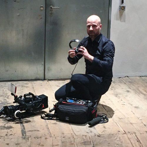 kameramannmit equipment